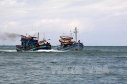 Tàu cá hỏng máy, 5 ngư dân lênh đênh trên biển gần đảo Bông Bay, thuộc quần đảo Hoàng Sa