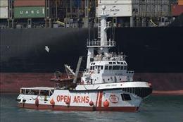 Tây Ban Nha cho phép tàu nhân đạo Open Arms rời cảng Barcelona