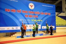 Đại hội Thể thao toàn quốc lần thứ VIII năm 2018: Thành phố Hồ Chí Minh dẫn đầu