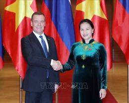 Chủ tịch Quốc hội Nguyễn Thị Kim Ngân hội kiến Thủ tướng Nga