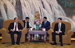 Thủ tướng Nguyễn Xuân Phúc tiếp Thị trưởng Thành phố Thượng Hải