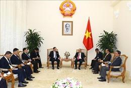 Thủ tướng Chính phủ Nguyễn Xuân Phúc tiếp Bộ trưởng Ngoại giao Triều Tiên Ri Yong Ho