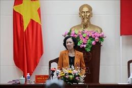 Trưởng ban Dân vận Trung ương làm việc tại Bình Thuận về công tác dân tộc