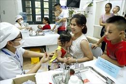 Hà Nội phấn đấu trên 99,8% trẻ em được bổ sung vitamin A liều cao