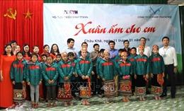 TTXVN tổ chức 'Xuân ấm cho em' tại miền núi Nghệ An