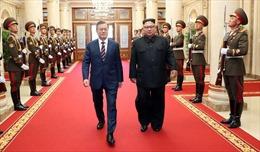 Hội nghị Thượng đỉnh liên Triều ký Tuyên bố chung và Hiệp ước quân sự