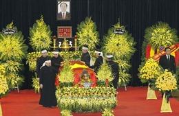 Lãnh đạo các nước tiếp tục chia buồn Chủ tịch nước Trần Đại Quang từ trần