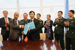 Lần đầu tiên Việt Nam cử quân y tham gia lực lượng gìn giữ hòa bình của Liên hợp quốc