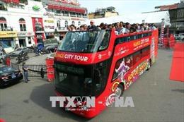 Hà Nội mở thêm tuyến xe buýt du lịch hai tầng đúng ngày Giải phóng Thủ đô 10/10