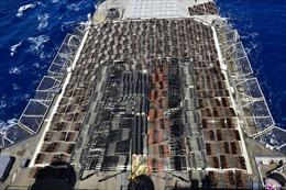 Hải quân Mỹ bắt tàu chở lậu hàng nghìn vũ khí nghi từ Iran