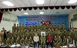 Khai giảng lớp tiếng Việt cho cán bộ, chiến sĩ Tổng cục Chính trị, Bộ An ninh Lào