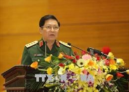 Trao Huy hiệu 50 năm tuổi Đảng tặng Đại tướng Phùng Quang Thanh và Huy hiệu 45 năm tuổi Đảng tặng Đại tướng Ngô Xuân Lịch