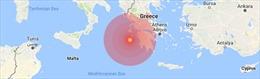 Động đất 6,9 độ ríchte gây sóng thần tại Hy Lạp