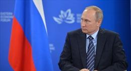 Tổng thống Nga Putin chính thức lên tiếng vụ đụng độ trên Biển Đen