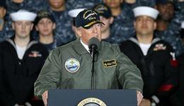 Tổng thống Trump sắp có chuyến thăm đầu tiên tới vùng chiến sự