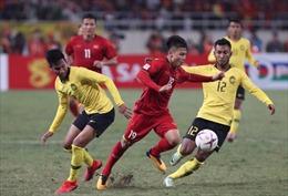 Chung kết AFF Suzuki Cup 2018: Việt Nam làm chủ thế trận, dẫn trước Malaysia 1-0 sau hiệp 1