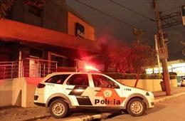 Cướp ngân hàng, giết hàng loạt con tin tại Brazil