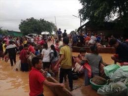 Thông tin về việc vỡ đập thủy điện tại Lào