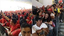 Cổ động viên Việt Nam không hài lòng với sân vận động Bukit Jalil