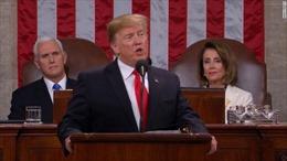 Tổng thống Trump kêu gọi hợp tác và chấm dứt tình trạng đối đầu chính trị