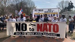 Biểu tình rầm rộ tại Washington D.C phản đối NATO và Mỹ can thiệp vào Venezuela