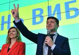 Bầu cử Tổng thống Ukraine: Ứng cử viên Vladimir Zelenskiy giành chiến thắng tại vòng 1