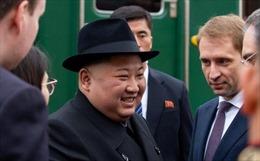 Chủ tịch Triều Tiên Kim Jong-un đã đến Vladivostok, Nga