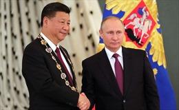 Chủ tịch Trung Quốc Tập Cận Bình thăm Nga cấp nhà nước