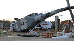Rơi trực thăng MI-2 tại Nga, phi công tử nạn