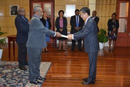 Toàn quyềnPapua New Guinea coi trọng mối quan hệ hữu nghị, hợp tác tốt đẹp với Việt Nam