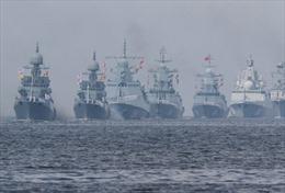 Nga phô diễn sức mạnh quân sự nhân Ngày Hải quân 2019