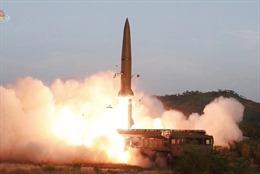 Triều Tiên phóng các quả đạn ra biển Nhật Bản