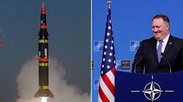 Mỹ tuyên bố Nga phải chịu hoàn toàn trách nhiệm về sự đổ vỡ của Hiệp ước hạt nhân INF