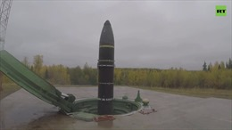 Video Nga thử thành công tên lửa đạn đạo liên lục địa Topol-M