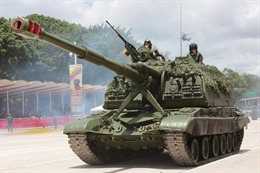 Venezuela bắt đầu tập trận qui mô lớn gần biên giới Colombia