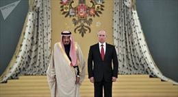 Tổng thống Nga Putin tới Riyadh, bắt đầu thăm chính thức Saudi Arabia
