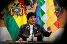 Cảnh sát và quân đội Bolivia phát lệnh bắt Tổng thống Evo Morales