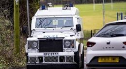 Tấn công lựu đạn nhằm vào xe cảnh sát tại Bắc Ireland