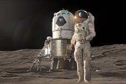 NASA hé lộ mẫu trạm đổ bộ mới trên Mặt Trăng