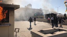 Đại sứ quán Mỹ tại Iraq bị tấn công bằng rốc-két