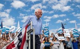 Siêu Thứ Ba bầu cử Mỹ: TNS Sanders giành chiến thắng tại bang quan trọng California
