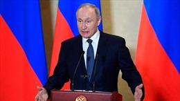 Tổng thống Nga có bài phát biểu toàn quốc kêu gọi người dân chung tay chống dịch COVID-19