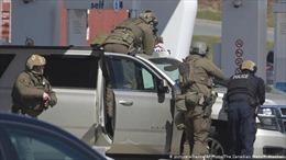 Xả súng đẫm máu tại Canada, ít nhất 10 người thiệt mạng