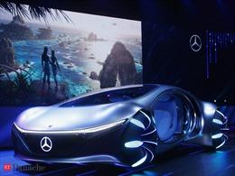 Chiêm ngưỡng siêu xe Mercedes không vô-lăng, lấy ý tưởng từ phim Avatar