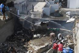 Thị trưởng Karachi: Không ai còn sống trong vụ rơi máy bay chở 107 người tại Pakistan