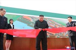 Hình ảnh Chủ tịch Triều Tiên dự Lễ khánh thành nhà máy ngày 1/5/2020
