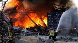 Nga điều bệnh viện dã chiến và 5 máy bay tới Liban sau vụ nổ ở Beirut