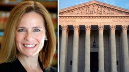 Tổng thống Trump đề cử bà Amy C. Barrett làm Thẩm phán Tòa án Tối cao Mỹ; Thượng viện bỏ phiếu giữa tháng 10
