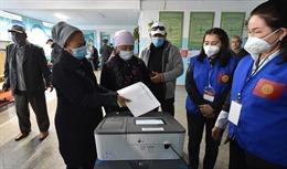 Ủy ban Bầu cử Trung ương Kyrgyzstan tuyên bố hủy kết quả bầu cử quốc hội