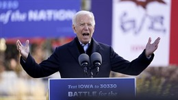 Bầu cử Mỹ 2020: Ông Biden rộng đường vào Nhà Trắng sau chiến thắng quan trọng ở bang Michigan